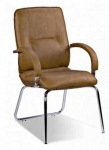 Стар CFA LB - кресло кожаное для совещаний