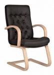 Фидель CFLB - конференц  кресло кожаное