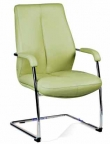 Соната СFLB - кресло кожаное для совещаний