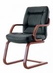 Сенатор екстра CFLB - кресло кожаное для совещаний