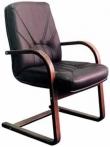 Менеджер экстра CFLB - конференц  кресло кожаное