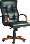 Амбасадор - кресло кожаное